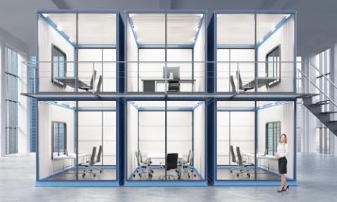 La cabine de travail, le bureau individuel dans les open spaces !