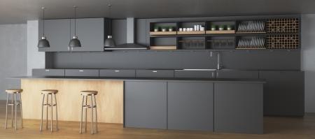 la tendance du bois dans les cuisines